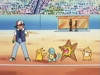 Archivo:EP149 Ash con Pikachu, Squirtle, Staryu y Psyduck.jpg