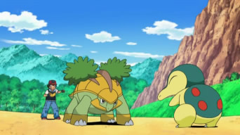 Archivo:EP613 Cyndaquil vs Grotle.PNG