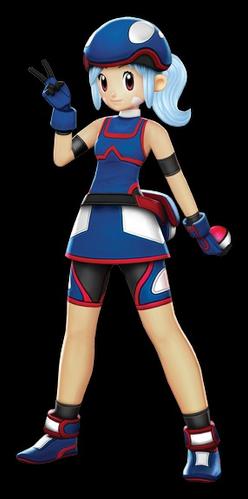 Ilustración de Marina en Pokémon Battle Revolution