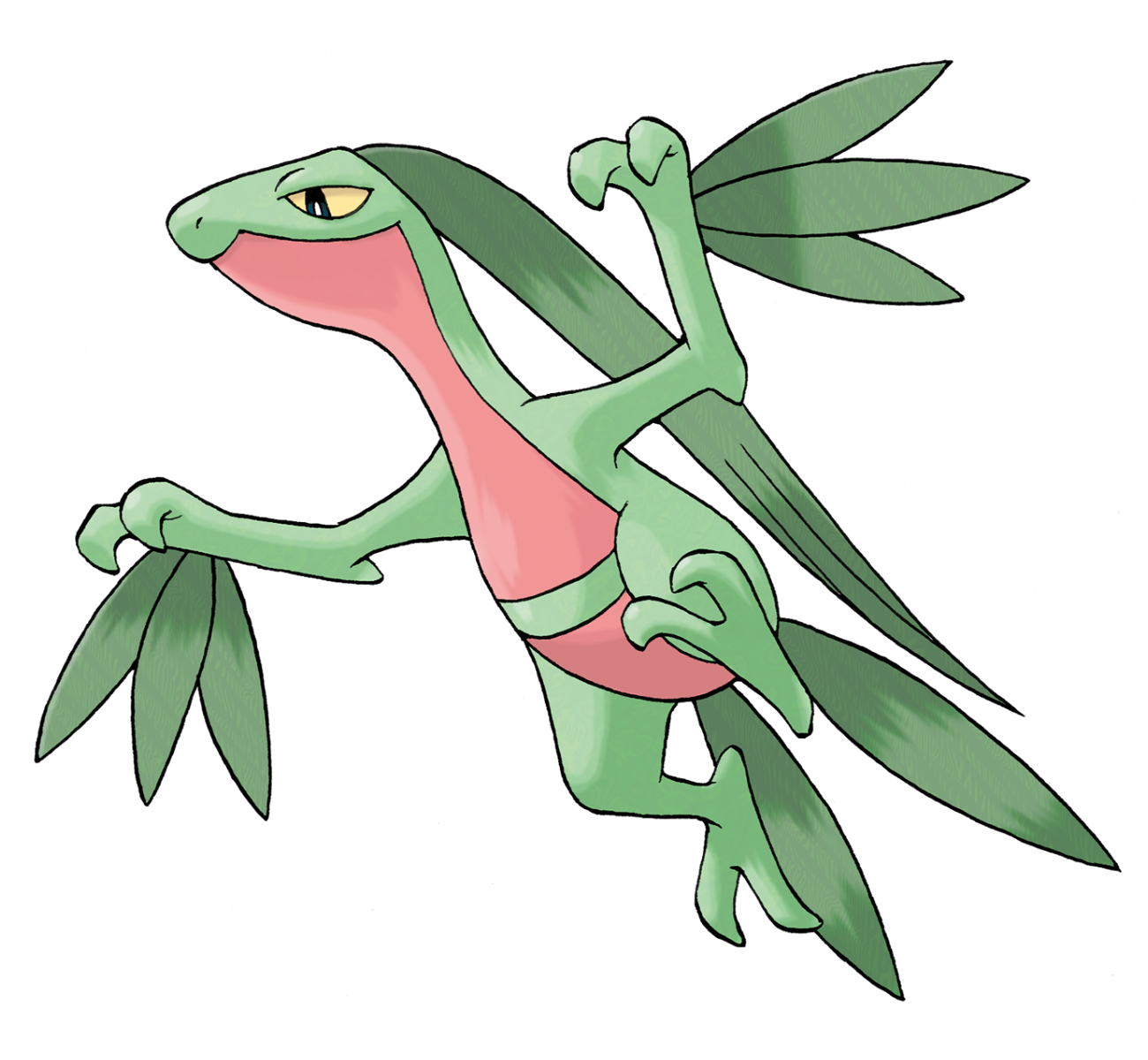 Grovyle wikidex fandom powered by wikia - Comment peindre un verre transparent ...
