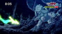 P16 Pokémon en la zona rocosa de las Colinas Pokémon