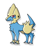 Manectric de Lucy Fleetfoot