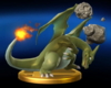 Trofeo de Charizard (alt.) SSB4 (Wii U)