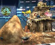 Estadio Pokémon 2 Tierra Brawl