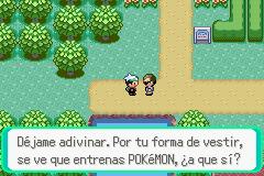 Conociendo a Treto en Pokémon Esmeralda