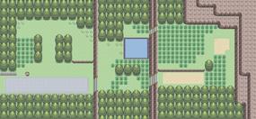 Mapa de la ruta 203