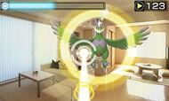 Capturando a Tornadus forma alternativa en Pokémon Dream Radar