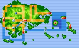 Hoenn RZE Mapa