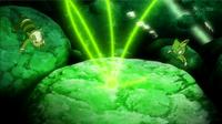 EP897 Núcleo de Zygarde absorbiendo células