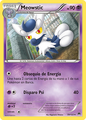 Carta de Meowstic