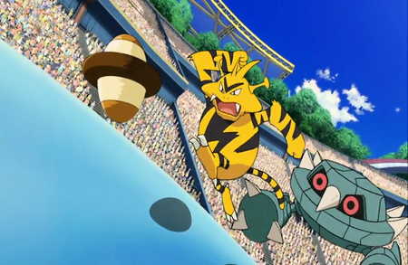 Archivo:P13 Electabuzz y Metang.png