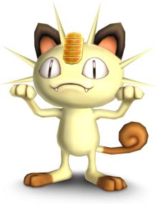 Archivo:Meowth SSBB.jpg