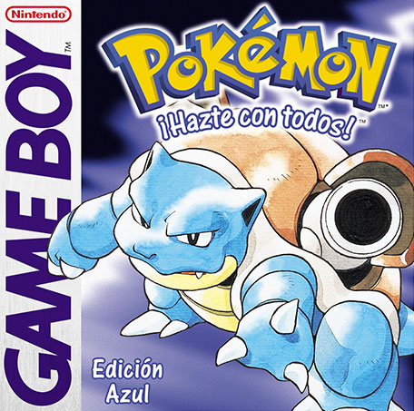 Archivo:Carátula de Pokémon Azul.jpg