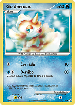 Carta de Goldeen