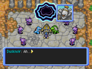 Dusknoir derrotado