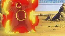 EP653 Ursaring quemado