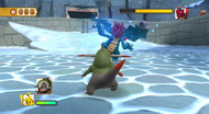PokéPark 2 lucha con Druddigon