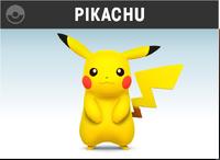 Pikachu artwork SSB4