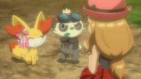 EP863 Pokémon de Serena