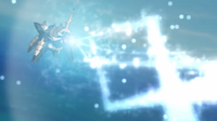 TA01 Samurott usando rayo hielo