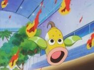 EP026 Weepinbell asustado por las hojas en llamas