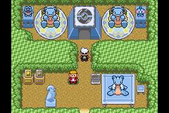 En las bases secretas Pokémon Esmeralda