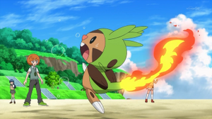 EP843 Chespin quemándose.png