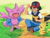 Archivo:EP554 Ash con Gligar y Pikachu.png