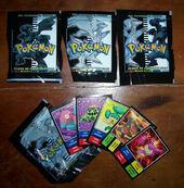 Figuritas pokemon black white sobres