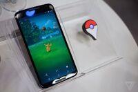 Pokémon GO en un smartphone