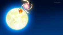 EP916 Flabébé usando fuerza lunar
