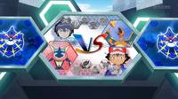 EP934 Pantalla del combate de Ash y Alain (3)