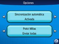 Sincronizar juego Poké millas XY