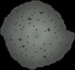 Puño de Guthix mapa