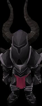 Tiny Black Knight pet