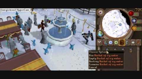 RuneScape evento de navidad 2009.