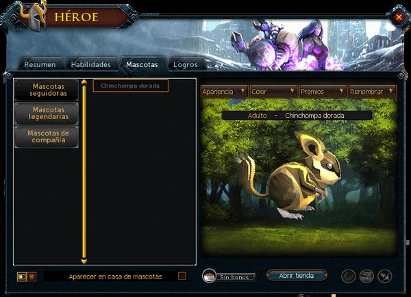 Héroe - Mascotas