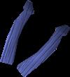 Pala de azulito detallada