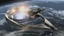 Stargate SG-1 - Odyssey attacks Ori mothership.jpg