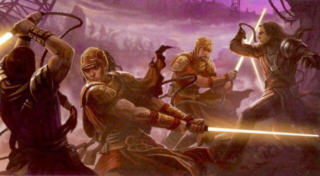 Archivo:Jedi vs Sith Primitivos.jpeg