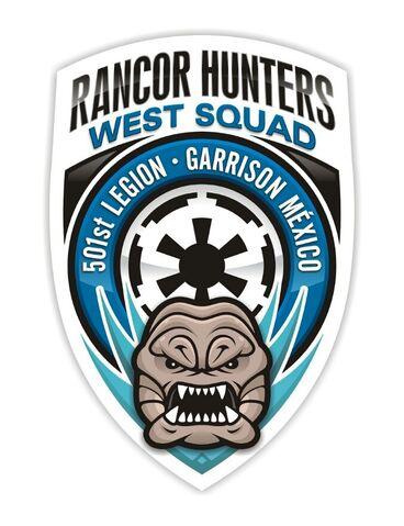 Archivo:Rancor hunters west squad X.jpg