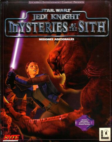 Archivo:Star Wars -- Jedi Knight -- Mysteries of the Sith.jpg
