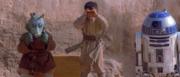 Kitster y el equipo de asistencia de Anakin