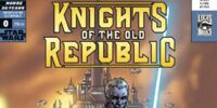 Star Wars: Knights of the Old Republic/Rebellion 25¢ flip-book