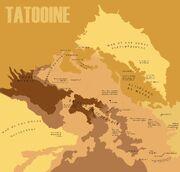 Mapa de Tatooine