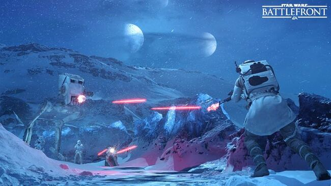 Ampliación Star Wars Battlefront