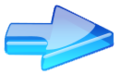 Blue Glass Arrow.png