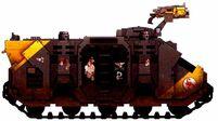 Escorpiones Rojos Transporte Blindado Tropas Rhino Marines Espaciales Astartes Wikihammer