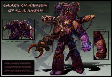 Campeon Slaanesh