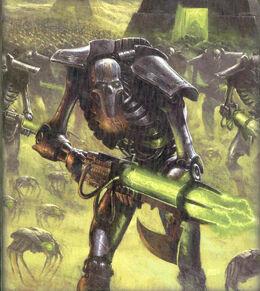 Necrones ejército guerreros